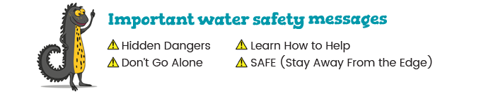 Important water safety messages