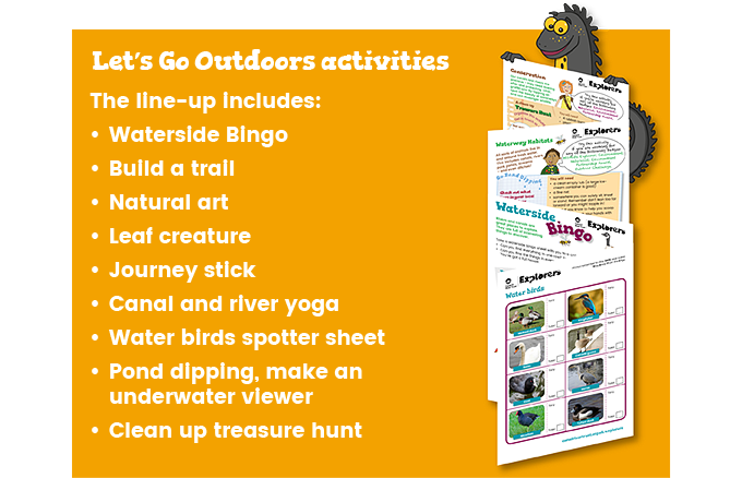Let's Go Outdoors activities